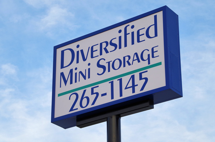 Diversified Mini Storage Pylon Reface